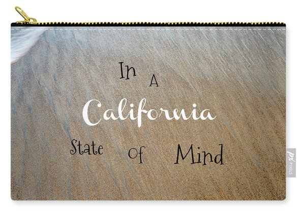 Cali State Of Mind Carry-all Pouch