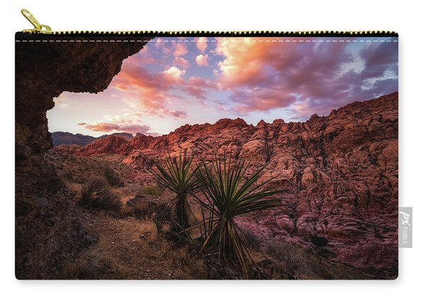 Calico Sunset Carry-all Pouch