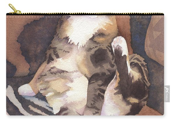 Calico Tabby Carry-all Pouch