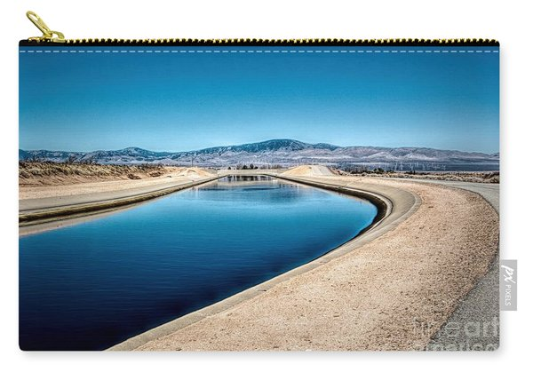 California Aqueduct At Fairmont Carry-all Pouch