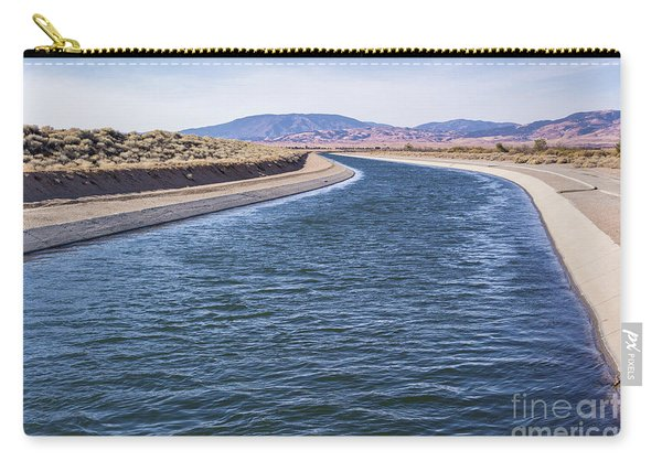 California Aqueduct S Curves Carry-all Pouch