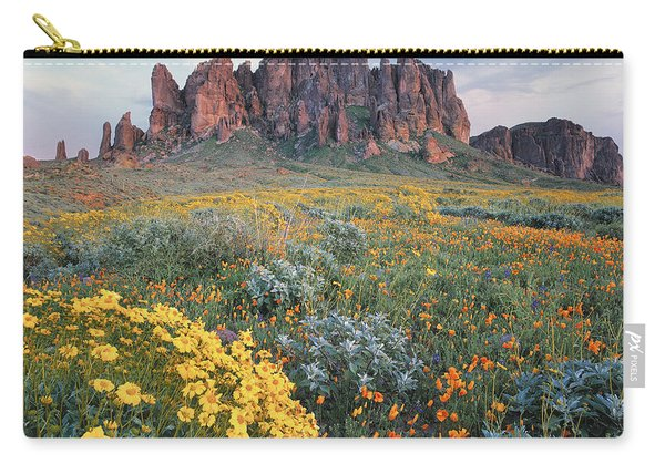 California Brittlebush Lost Dutchman Carry-all Pouch