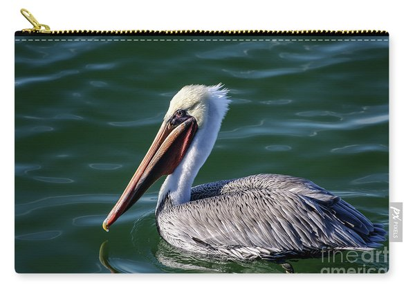 California Brown Pelican In Late Summer Carry-all Pouch