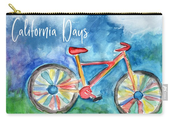 California Days - Art By Linda Woods Carry-all Pouch