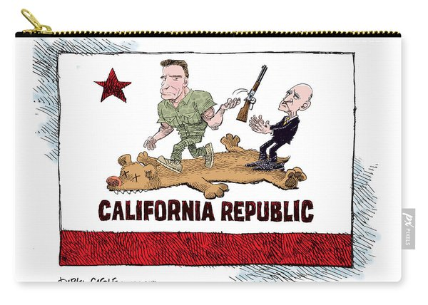 California Governor Handoff Carry-all Pouch