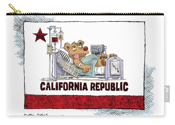 California Is Sick Carry-all Pouch