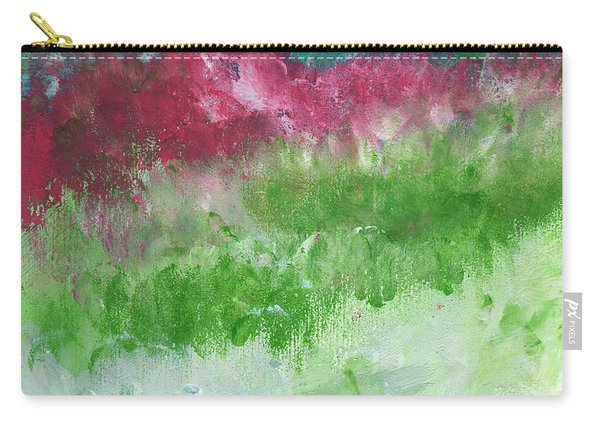 California Landscape- Expressionist Art By Linda Woods Carry-all Pouch