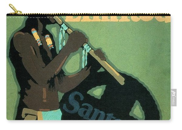 California Limited - Santa Fe - Retro Travel Poster - Vintage Poster Carry-all Pouch