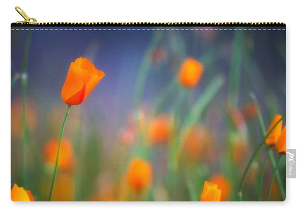 California Poppies 2 Carry-all Pouch