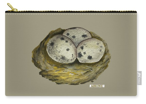 California Quail Eggs In Nest Carry-all Pouch