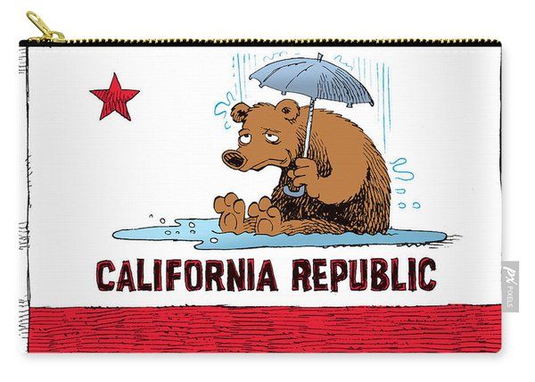 California Rain Carry-all Pouch