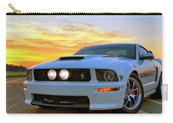 California Special Sunrise - Mustang - American Muscle Car Carry-all Pouch