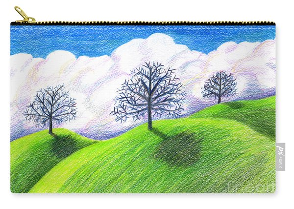 California Spring Drawing Carry-all Pouch