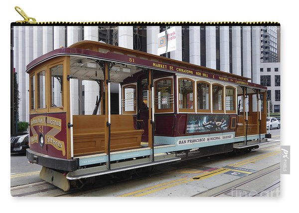 California Street Cable Car Carry-all Pouch