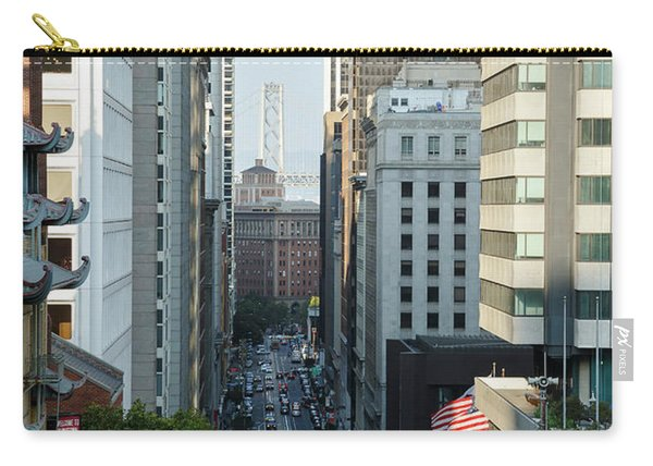 California Street San Francisco Carry-all Pouch
