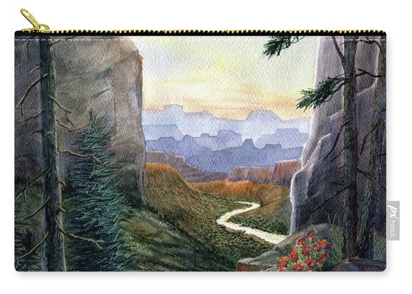 Call Of The Canyon Carry-all Pouch