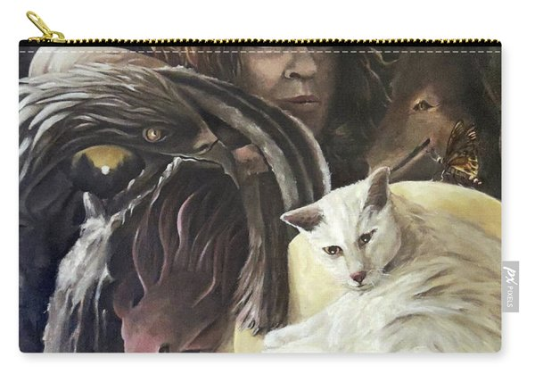 Call To The Spirits Carry-all Pouch