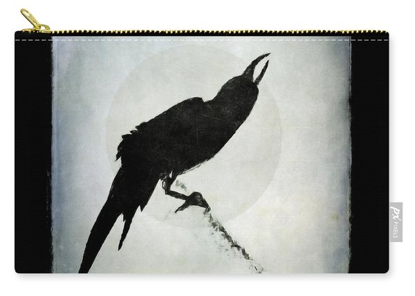 Calling To The Moon Carry-all Pouch
