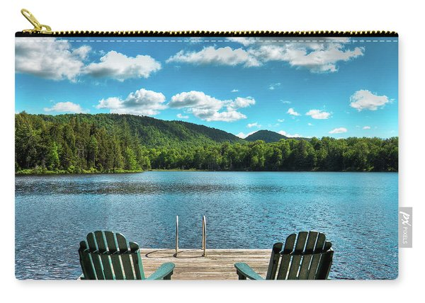 Calm In The Adirondacks Carry-all Pouch