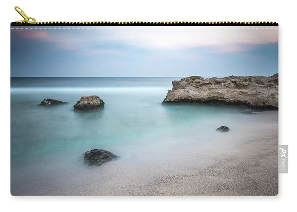 Calm Red Sea 1x1 Carry-all Pouch