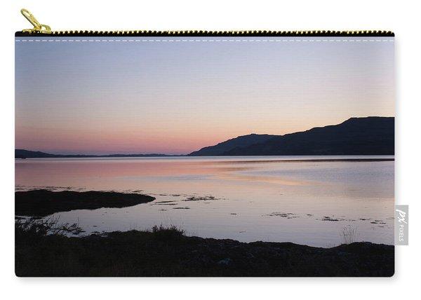 Calm Sunset Loch Scridain Carry-all Pouch
