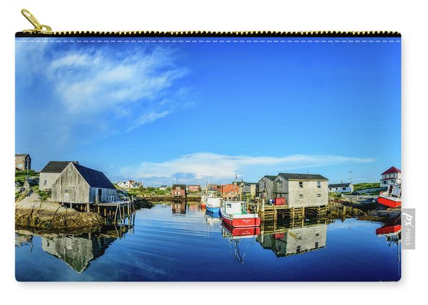 Calm Water At Peggys Cove Carry-all Pouch