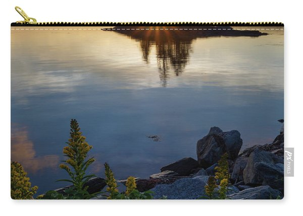 Calm Water At Sunset, Harpswell, Maine -99056-99058 Carry-all Pouch