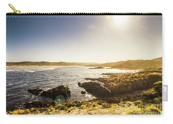 Calming Coastal Waters Carry-all Pouch