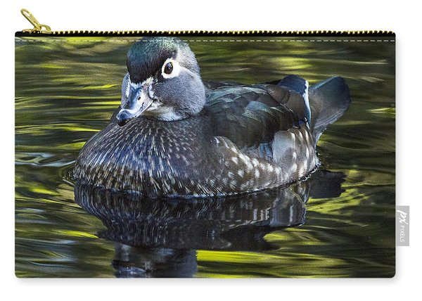 Calmness On The Water Carry-all Pouch