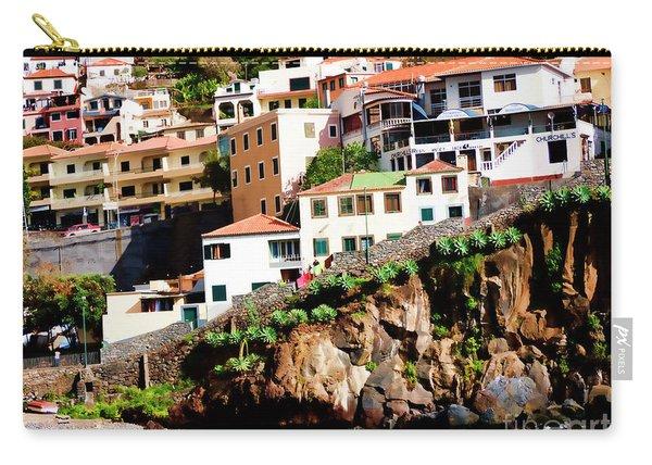 Camara De Lobos On The Island Of Madeira Carry-all Pouch