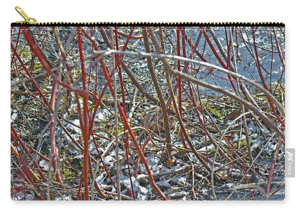 Camouflaged Look Carry-all Pouch