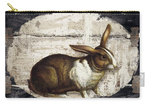 Campagne Iv Rabbit Farm Carry-all Pouch