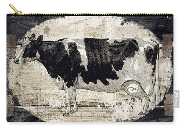 Campagne I French Cow Farm Carry-all Pouch