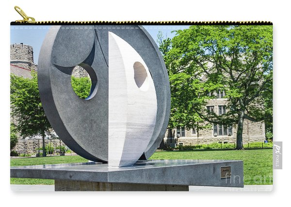 Carry-all Pouch featuring the photograph Campus Art by William Norton