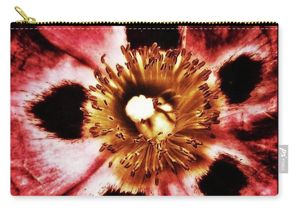 Carry-all Pouch featuring the photograph Can You Guess What Flower? Hints: It's by Mr Photojimsf