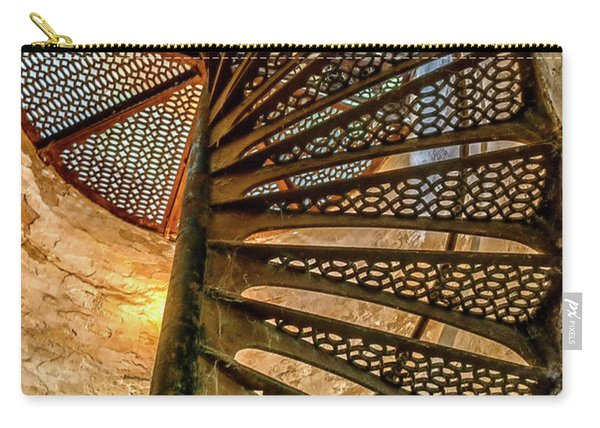 Cana Island Lighthouse Staircase Carry-all Pouch