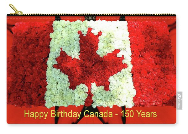 Canada 150 Years Carry-all Pouch