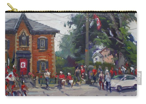 Canada Day Parade At Glen Williams  On Carry-all Pouch