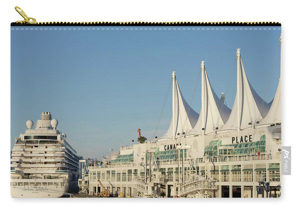 Canada Place Cruise Ship  Carry-all Pouch