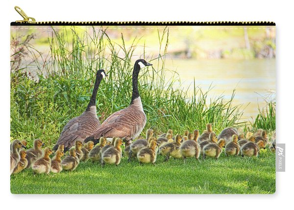Canadian Geese Family Carry-all Pouch