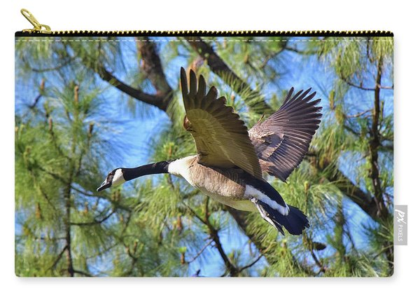 Canadian Goose Inflight 1  Carry-all Pouch