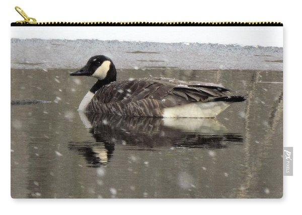 Canadian Goose In Michigan Carry-all Pouch