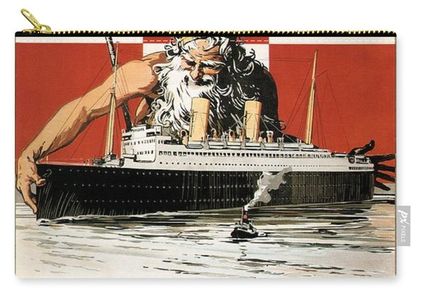 Canadian Pacific - Duchess Steamships - Poseidon - Retro Travel Poster - Vintage Poster Carry-all Pouch