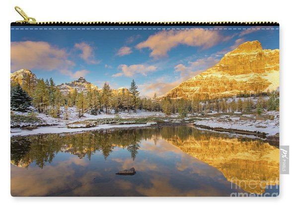 Canadian Rockies Golden Autumn Serenity Carry-all Pouch