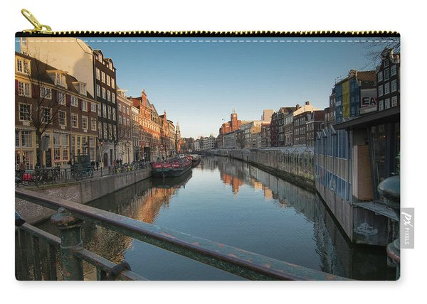 Canal From The Bridge Carry-all Pouch