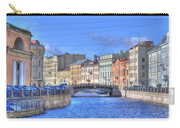 Canal In St. Petersburgh Russia Carry-all Pouch