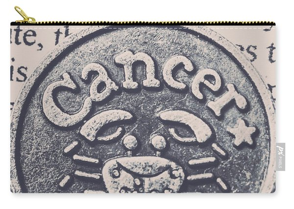 Cancer Zodiac Artwork Carry-all Pouch