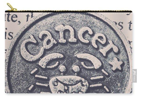 Cancer Zodiac Artwork Carry-all Pouch