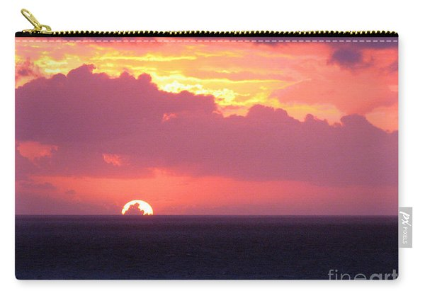 Sunrise Interrupted Carry-all Pouch