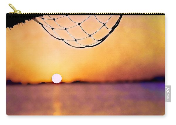 Cancun Sunset On The Lake Carry-all Pouch